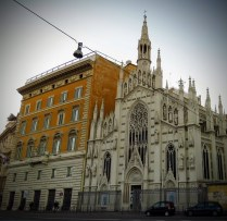 Zu einer solchen Bauversündigung ist nicht einmal Wien fähig ...
