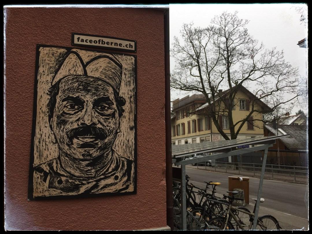 Kulturplakat an der Lorrainestrasse Bern