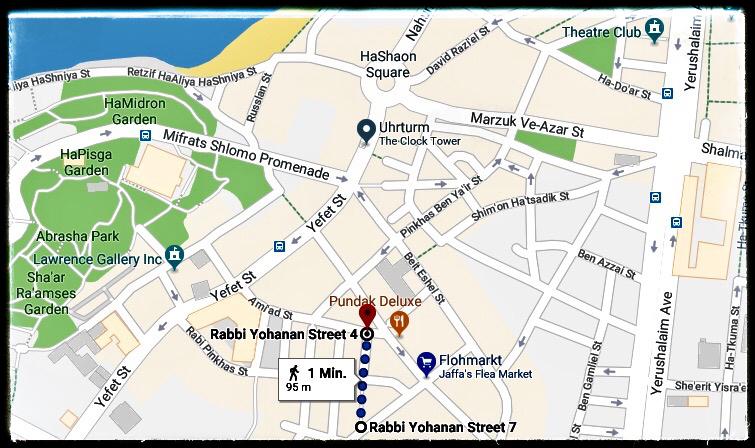 Cooles Quartier Old Jaffa Tel Aviv: Geheimtipp Rabbi Yohanan Street