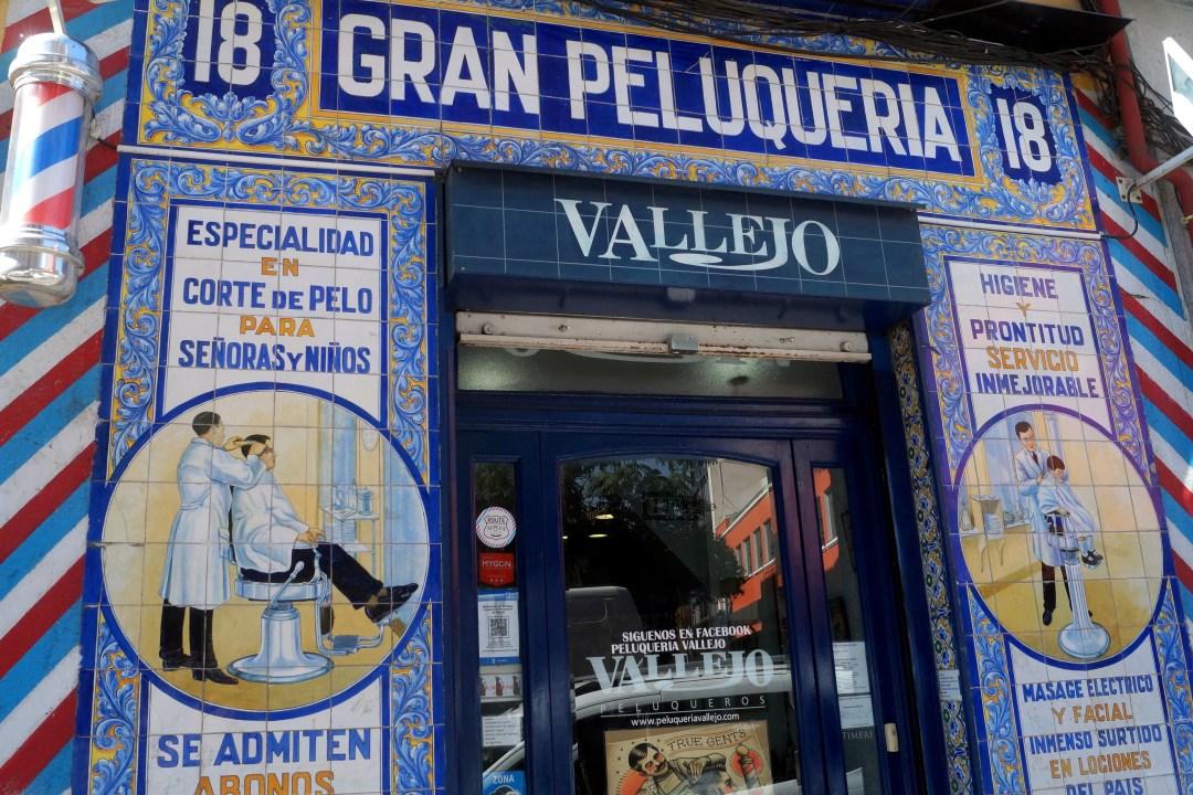 Starke Strecke Madrid Calle de Santa Isabel