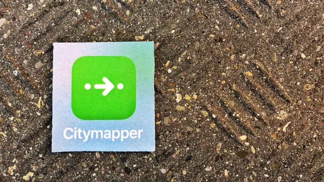 Citymapper, die Reise-App für die Stadt