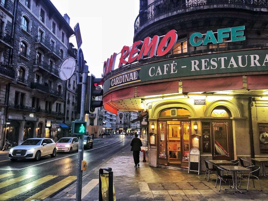 Rue des Eaux-Vives Genf