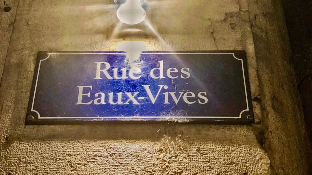 Genf, Rue des Eaux-Vives