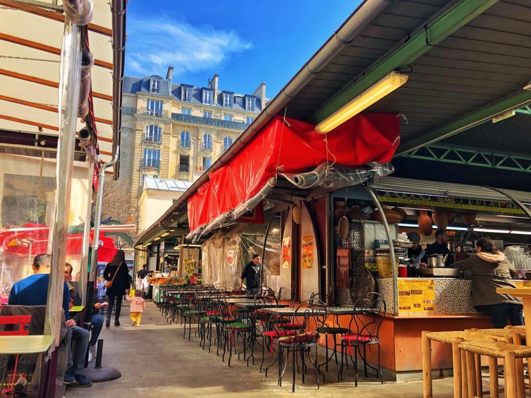 Paris, einer der schönsten Märkte ist der Marché couvert des Enfants Rouge