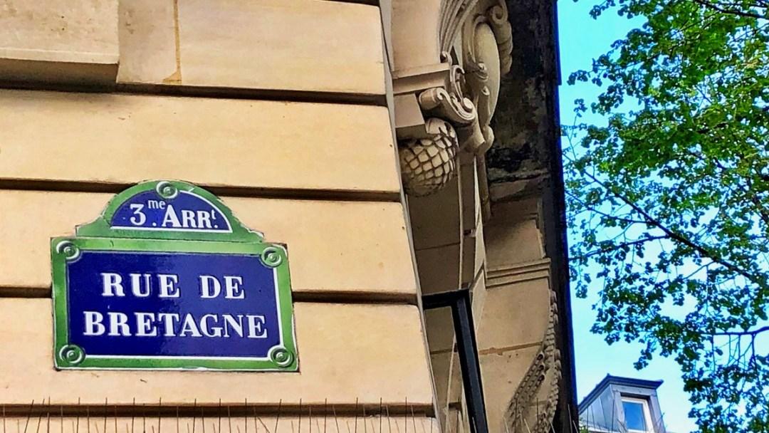 Paris Marais: Rue de Bretagne