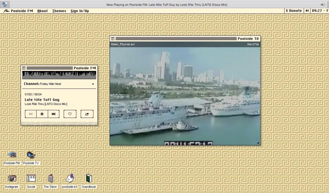 Internaut Day 2019: Eine Internet-Seite im Stil der 90er Jahre