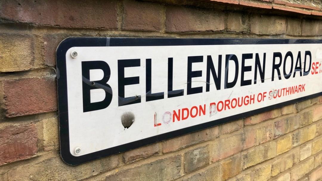 Im Süden Londons: In Peckham an der Bellenden Road