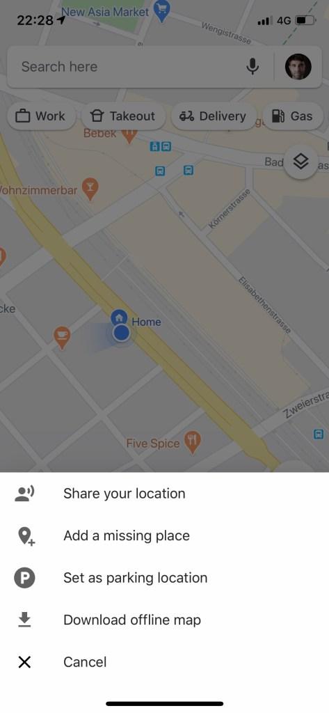 Standort teilen auf Google Maps, eine sehr nützliche Art, den Online-Kartendienst einzusetzen. Ratgeber Google Maps auf Reiseblog derinternaut.ch