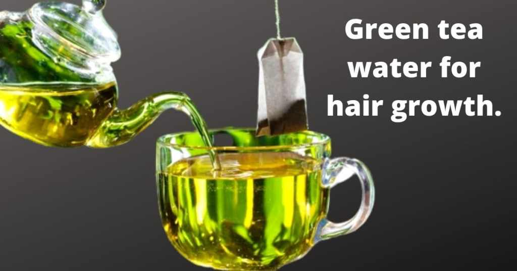 Green tea water is considered the best for improving the texture. Green tea is must to be included in hair care tips_Derje