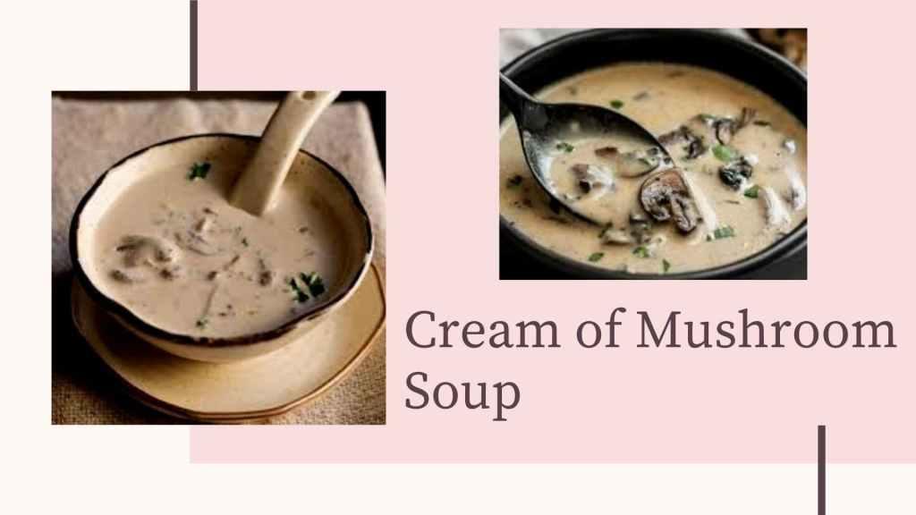 Mushroom creamy soup Garlic mushroom recipe_Derje