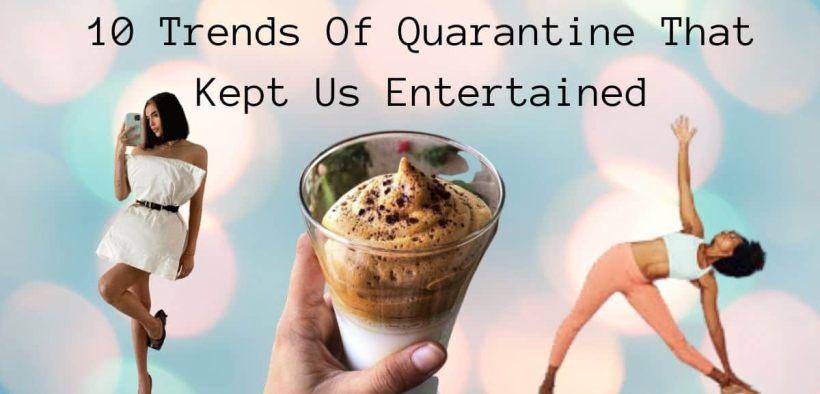 Trends of quarantine