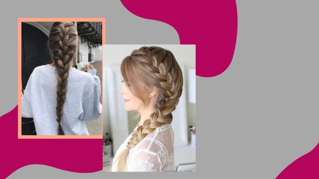 French braids easy summer hairstyles_derje