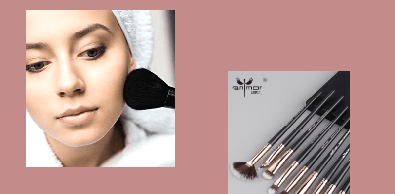 How to select best makeup brushes?_derje