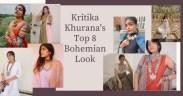 Top bohemian looks of Kritika Khurana