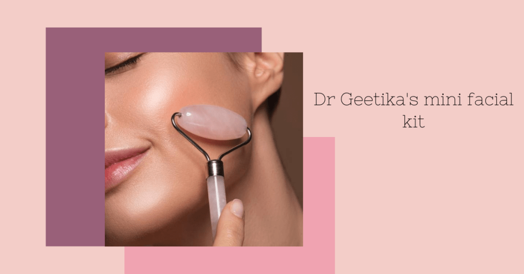 new skin care Dr geetika's mini facial kit_derje