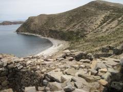 Strand auf der Isla del Sol