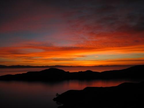 Sonnenuntergang Isla del Sol
