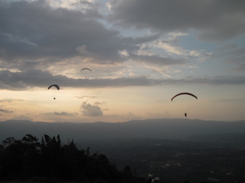 Paragliden bei Bucaramanga