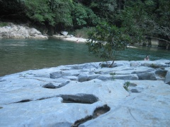 Marmorstrand Rio Claro