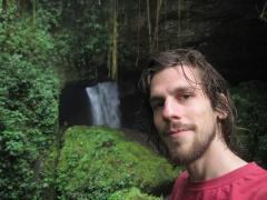 Vor der Cueva del Esplendor