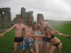 Stonehenge Swimming