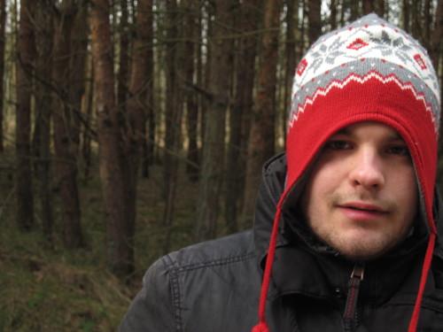 Torben Perrucho im Darsser Wald