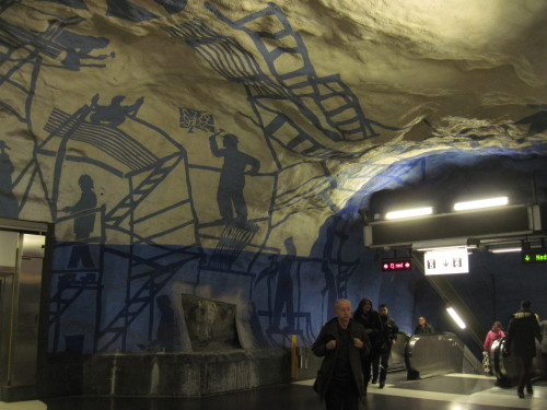 Die Schatten der Metro-Erbauer