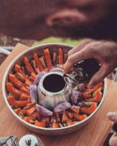 Griechisch angehauchter Ofenkürbis mit Feta aus dem Omina
