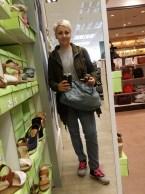 Erste Shopping-Tour mit Frauli