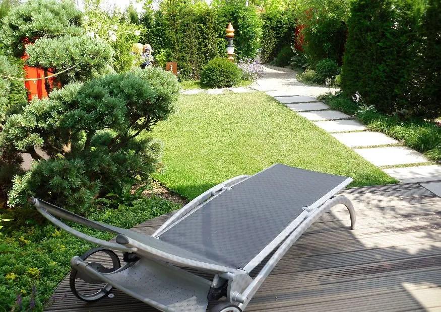 Kein Rasen in kleinen Gärten? Garten ohne Rasen anlegen.