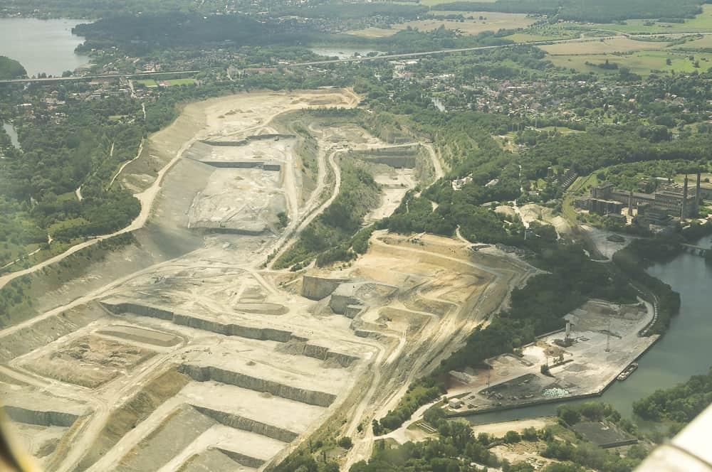 Der Tagebau