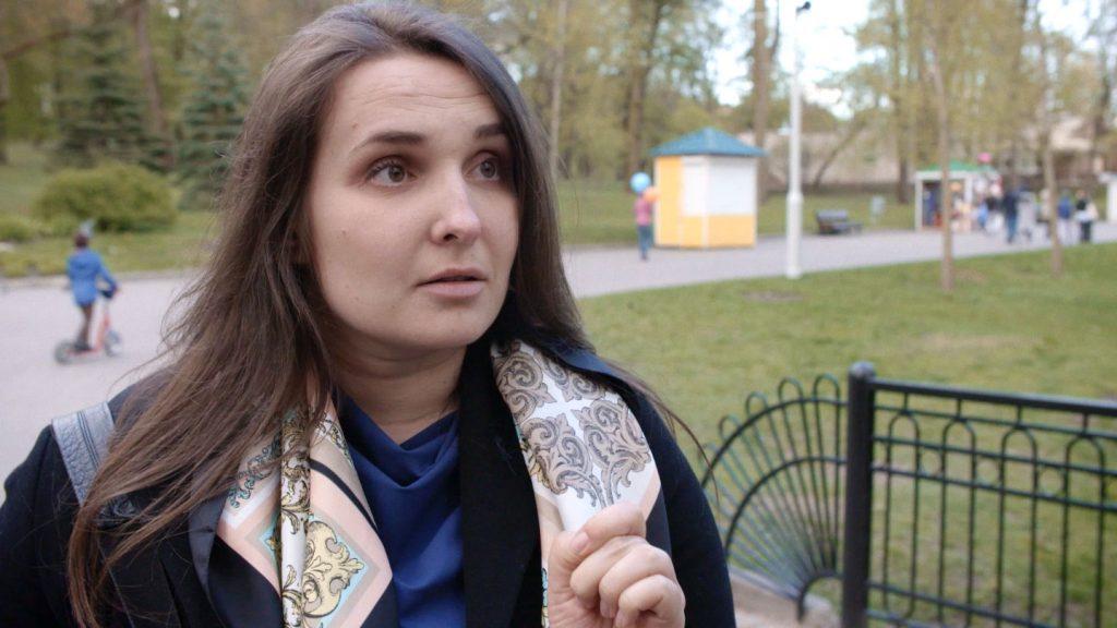 Diana Darazhok DER KRIEG IN MIR Heinzelfilm