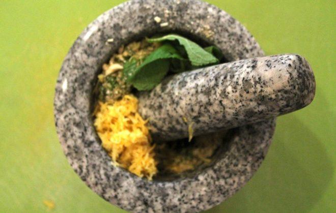 Minz-Pesto