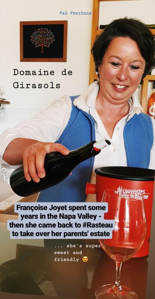 Von unserem Besuch bei der Domaine des Girasols stammt übrigens die schöne Cuvée, die ich - zurück in Köln - zu meinen selbstgemachten Caillettes getrunken habe.