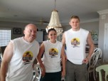 T-shirts made by the Wood Lab members