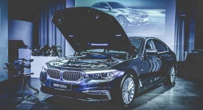 BMW 5er Präsentation Kreativfil
