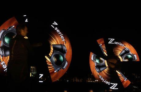 LED-Show für Nikon in Köln