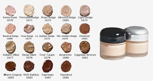 06 Matte Finish Foundation Skintones