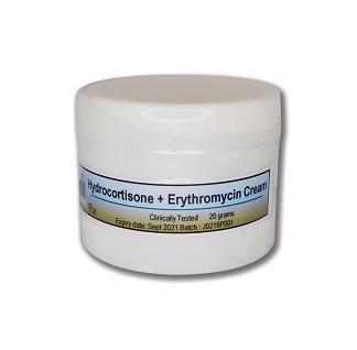 Hydrocortisone-Erythromycin-Cream