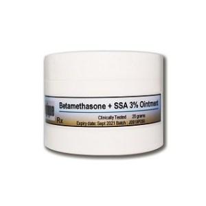 betamethasone+ssa3%-ointment
