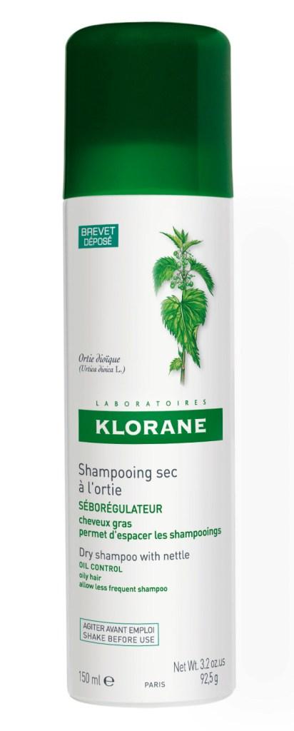 Cухой шампунь-спрей с экстрактом крапивы от Laboratoires Klorane
