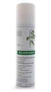 Сухой шампунь-спрей с экстрактом овсяного молочка, Laboratoires Klorane
