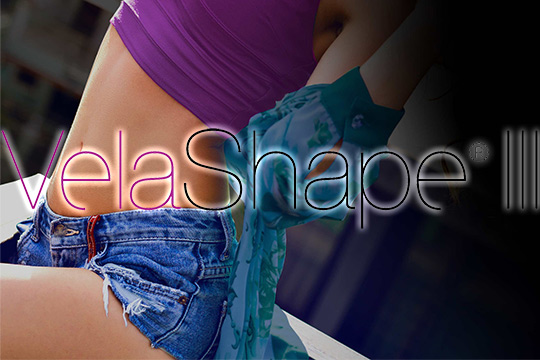 Tighten & smooth your skin with VelaShape III