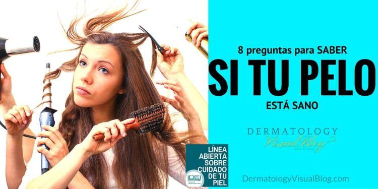 Consejos de tu dermatólogo para tener un pelo sano