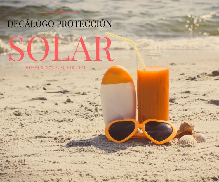 Decálogo para una protección solar segura realizado por dermatólogos del IDEI