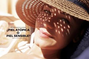 ¿Es lo mismo tener una piel atópica que sensible?