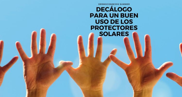 Decálogo para un buen uso de los protectores solares