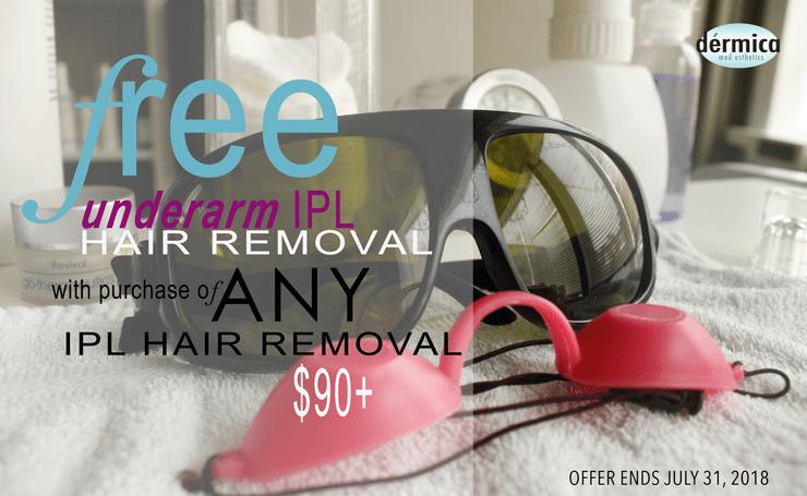 dermica IPL hair removal