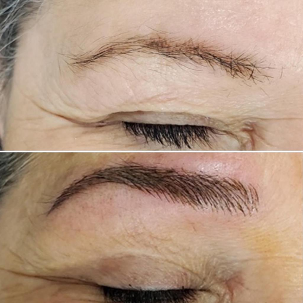 microblading before and after pics