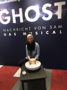 Töpferscheibe von Ghost das Musical im Stage Operettenhaus